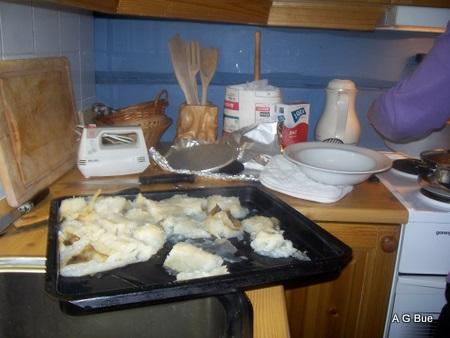 baking lutefisk