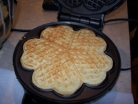 Norwegian-heart-shaped-waffles