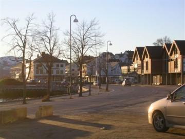 norwegian-village-street-scene