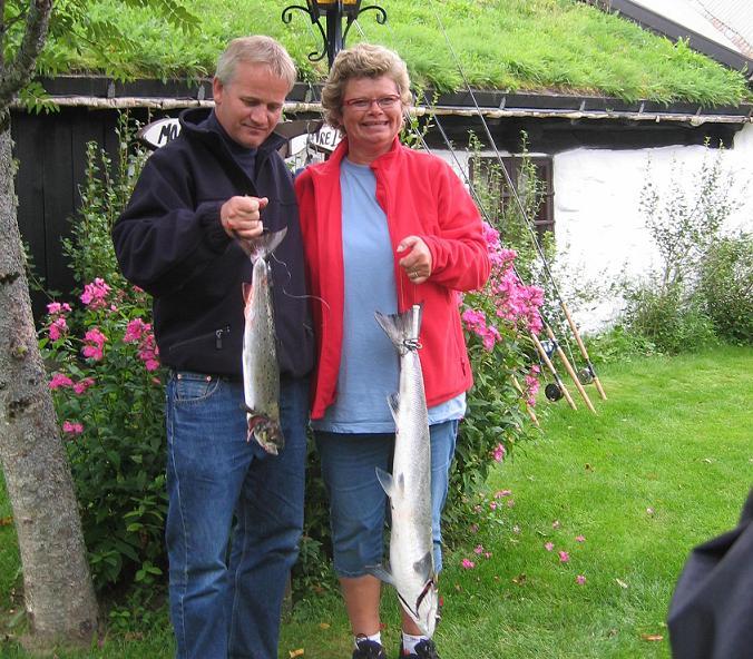 salmon fishing devold