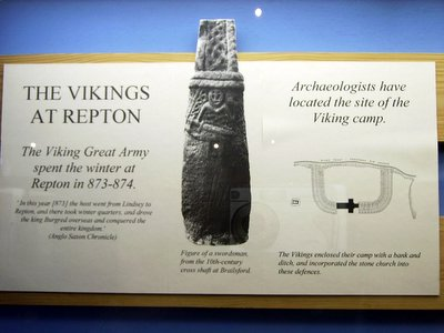 viking army at repton england