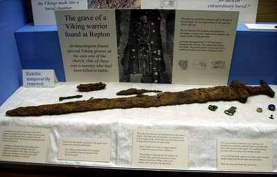 Viking artifacts from England