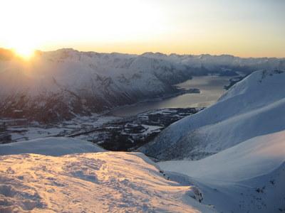 Sondre Klaua fjell og fjord