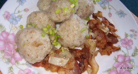 left over potato dumplings