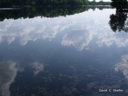 reflections on hemingway lake 2