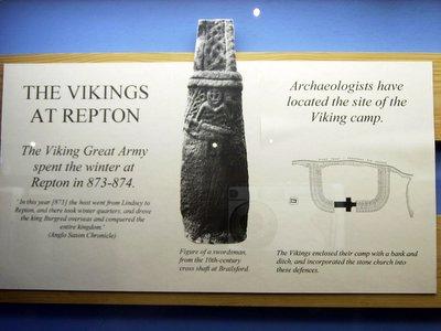 viking army at repton england