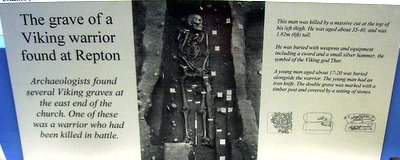 Viking Warrior grave in England