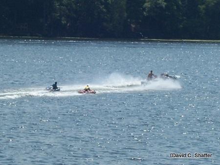 water fun at hemingway lake-1